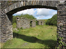SN0729 : Old quarry building remains near Rosebush by Gareth James
