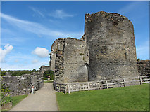 SN1943 : Cilgerran Castle by Gareth James