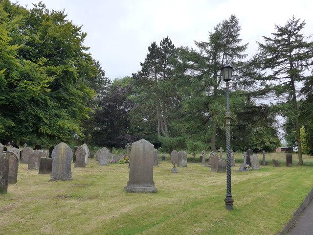 St Michael, Taddington: churchyard (A)