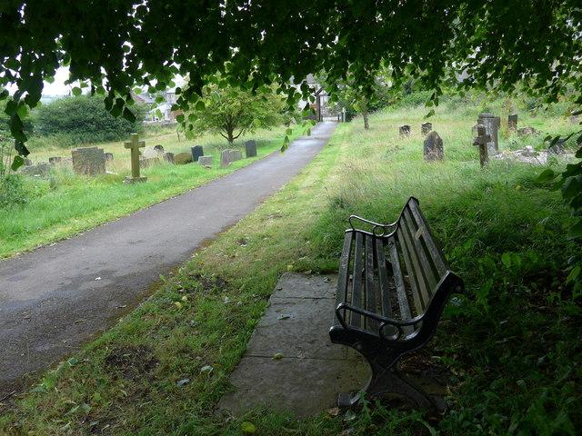 St Michael, Taddington: churchyard (D)