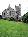 ST0608 : Kentisbeare: St Mary's church by Martin Bodman