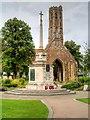 TF6219 : King's Lynn War Memorial and Greyfriars Tower by David Dixon