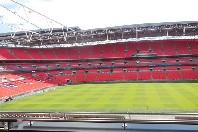 View from Royal Box, Wembley