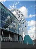 TQ1985 : Wembley Arch by Paul Gillett