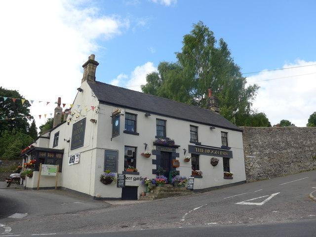 The Moon Inn, Stoney Middleton: late July 2015