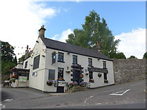 SK2375 : The Moon Inn, Stoney Middleton: late July 2015 by Basher Eyre