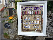 SK2375 : 2015 Stoney Middleton Well Dressing (b) by Basher Eyre
