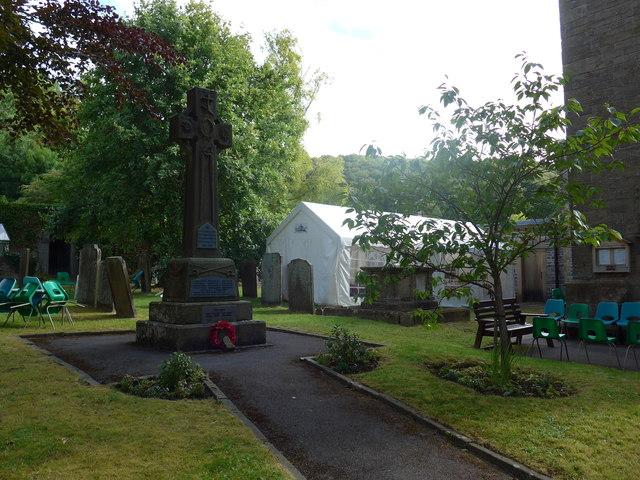 War Memorial, Stoney Middleton