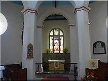 SK2375 : Inside St Martin, Stoney Middleton (ii) by Basher Eyre