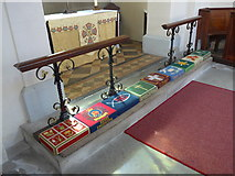 SK2375 : Inside St Martin, Stoney Middleton (x) by Basher Eyre