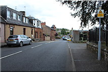 NS5521 : Church Hill, Auchinleck by Billy McCrorie