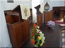 SK2375 : Inside St Martin, Stoney Middleton (xvii) by Basher Eyre