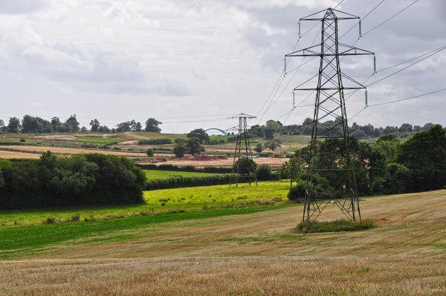 East Devon : Countryside Scenery