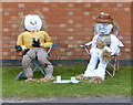 SK4028 : Weston on Trent Scarecrow Trail 2015 by Mat Fascione