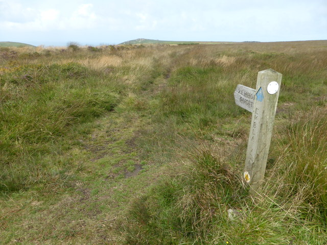 The path to Zennor Quoit