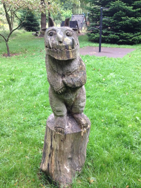 Wood carvings - Bishop Chester's Wood - Croston