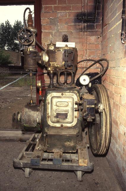 Fakenham Museum of Gas & Local History - steam engine