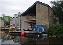 SD4760 : Old boat-house, Lancaster Canal by Ian Taylor