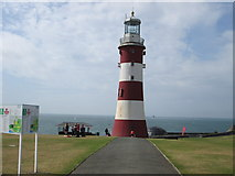 SX4753 : Smeaton's Tower – looking out  to sea by Peter S