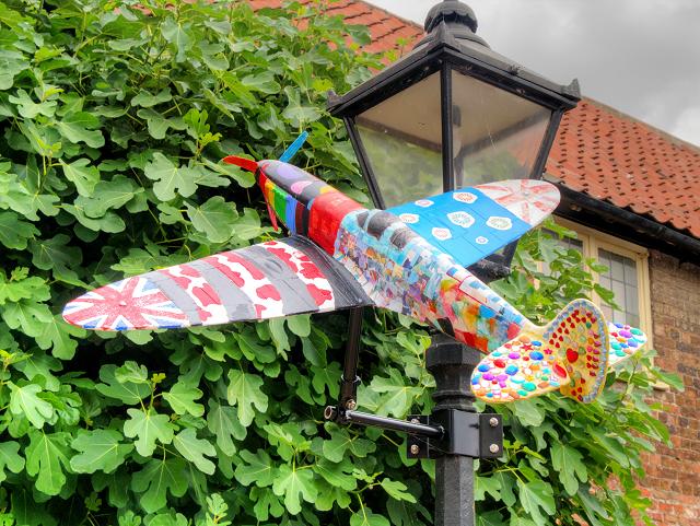 "Spitfire ""Kaleidoscope"" Outside King's Lynn Arts Centre"