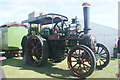 TQ4984 : View of the Dusty steam engine at the Steam and Cider Festival in Old Dagenham Park by Robert Lamb