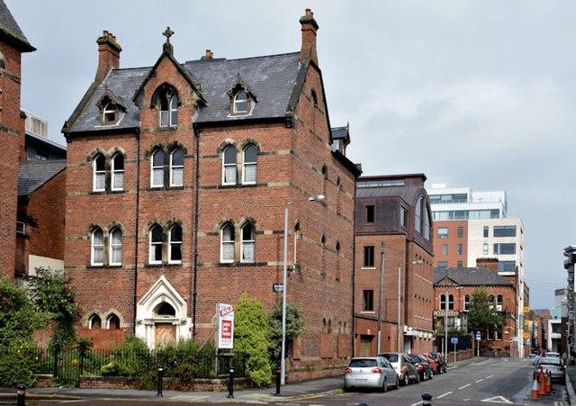 Former St Joseph's convent, Belfast - August 2015(1)