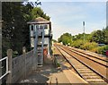 SJ9490 : Romiley Signal Box by Gerald England