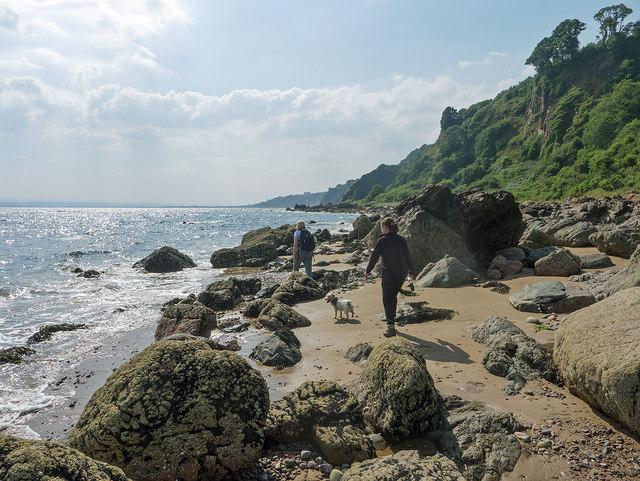 Walking the shoreline between Eathie and Rosemarkie