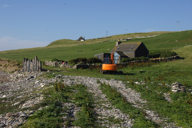 Holiday cottage at Ayre of Newgarth, Westing