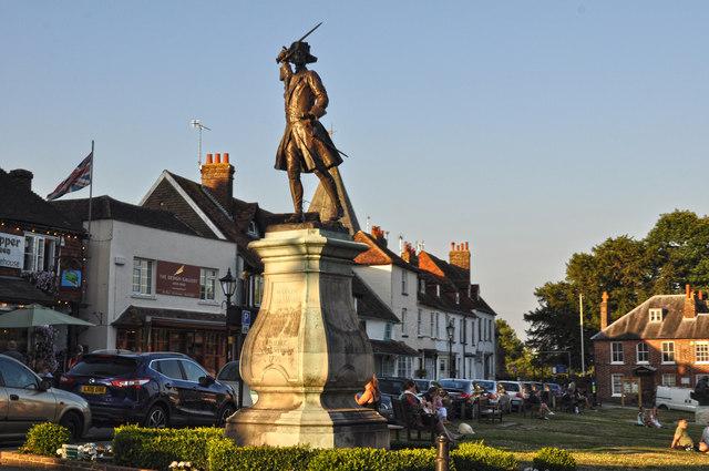 Westerham  General Wolfe Statue  Lewis Clarke  Geograph Britain and  Ireland