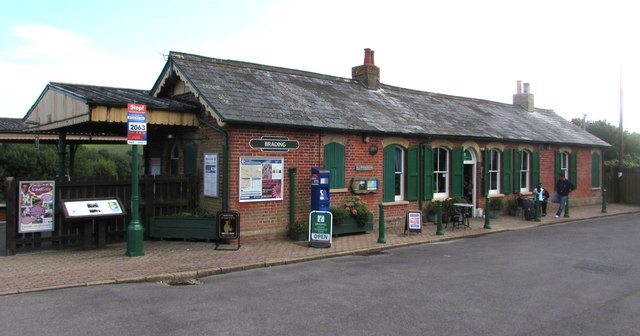 Brading railway station