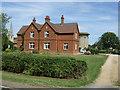SP9735 : Houses on Eversholt Road, Ridgmont by JThomas