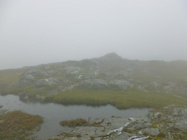 Summit cairn, Beinn a' Chleibh