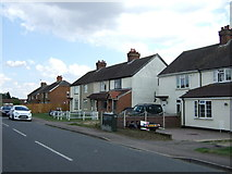 TL0637 : Houses on Clophill Road by JThomas