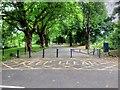 SJ3787 : Greenbank Drive Entrance to Sefton Park by David Dixon