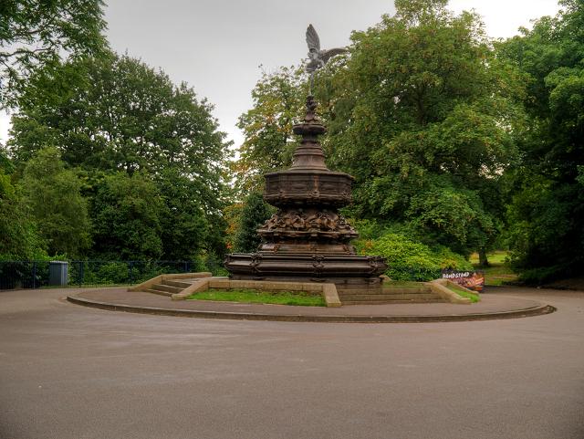 Shaftesbury Memorial and Eros Fountain, Sefton Park