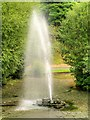 SJ3787 : Fountain in Sefton Park by David Dixon