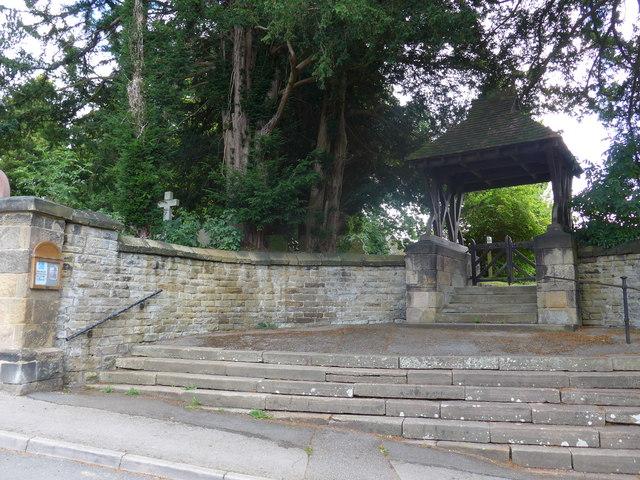 St Katherine, Rowsley: lych gate