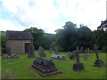 SK2566 : St Katherine, Rowsley: churchyard (iv) by Basher Eyre