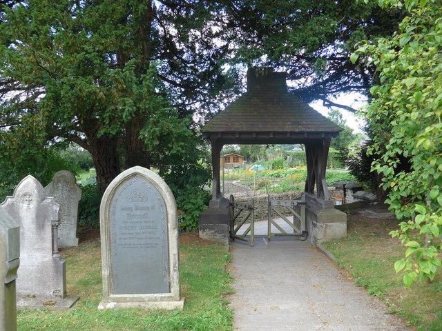 St Katherine, Rowsley: churchyard (v)