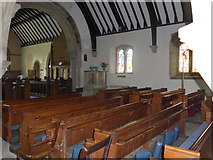 SK2566 : Inside St Katherine, Rowsley (d) by Basher Eyre