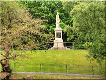 SJ3787 : Sefton Park, William Rathbone Statue by David Dixon