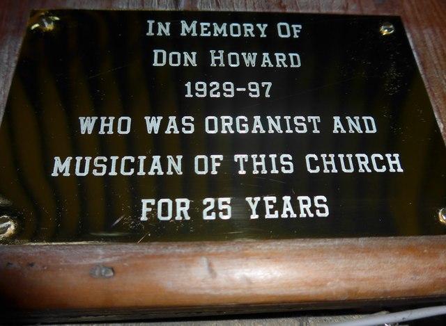 St Katherine, Rowsley: memorial (2)