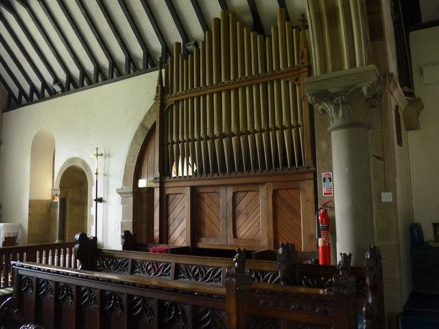 St Katherine, Rowsley: organ
