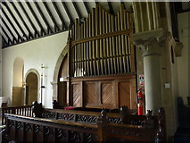 SK2566 : St Katherine, Rowsley: organ by Basher Eyre