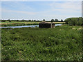 TL5371 : Pillbox by the River Cam by Hugh Venables