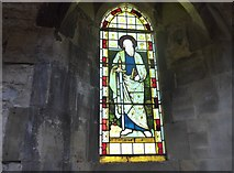 SK2071 : St Giles, Great Longstone: stained glass window (4) by Basher Eyre