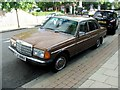 TQ3373 : Vintage 1982 Mercedes 200, Eynella Road, East Dulwich by Chris Whippet