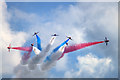 SZ1090 : Bournemouth Air Festival 2015 - the Red Arrows by Mike Searle