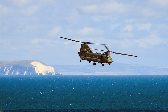 Bournemouth Air Festival 2015 - Chinook helicopter